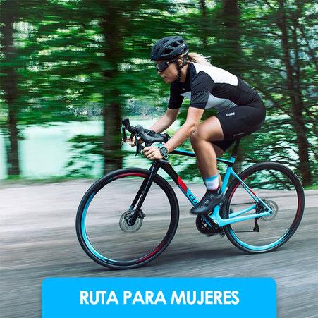Bicicleta ruta mujeres