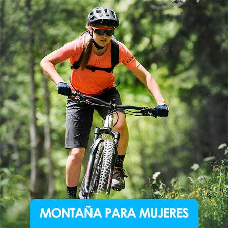 Bicicletas de montaña mujer