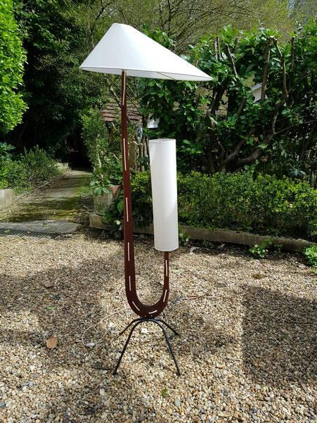 RISPAL lampadaire Girafe vers 1950