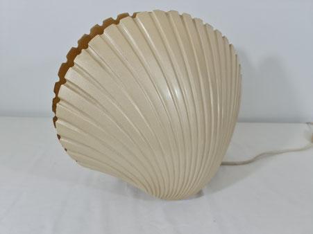 Lampe Coquillage en fibre de verre de Michele Mahé vers 1970