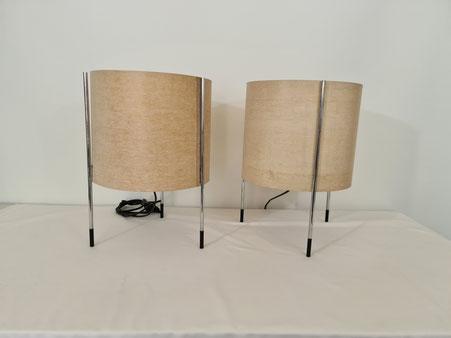Paire de lampes tripode des années 70
