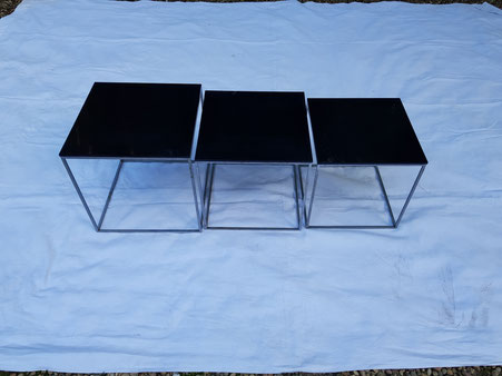 Poul Kjaerholm Tables gigognes PK71 édition Kold Christensen 1957