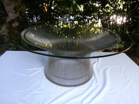 Warren PLATNER Table basse édition Knoll