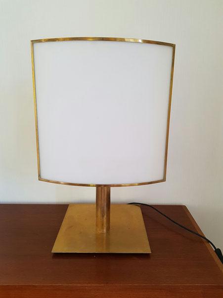 Michel Boyer lampe Ecran édition Verre et lumière en 1978