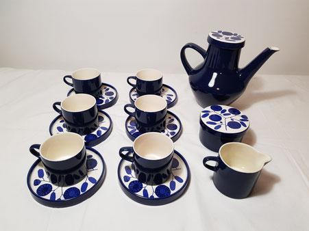 Service a thé ou café en céramique Melitta (Vendu)