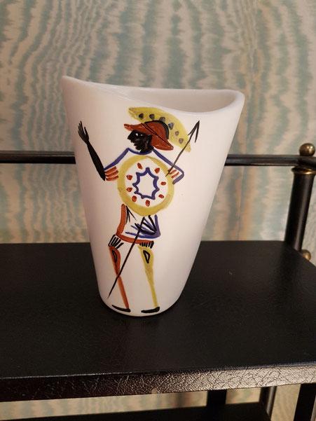 Roger Capron vase en céramique Vallauris
