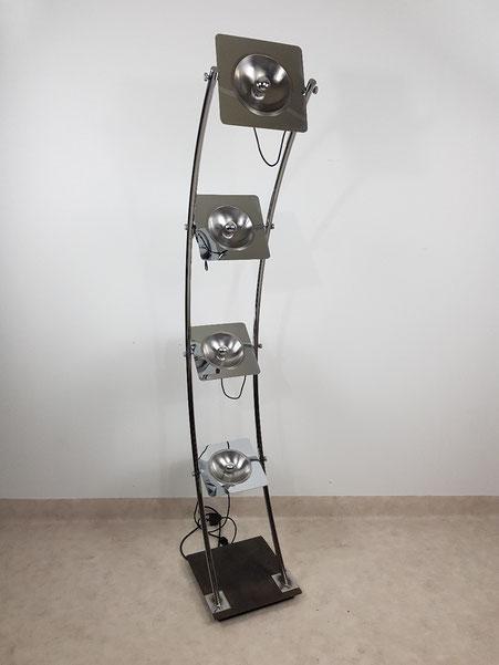 Lampadaire Reggiani 5 feux vers 1970