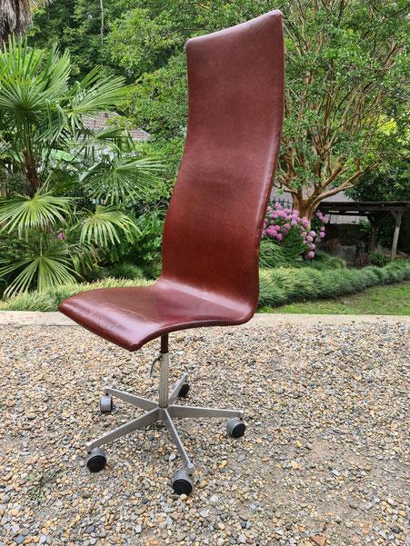 Arne Jacobsen Chaise de Bureau Oxford édition Fritz hansen