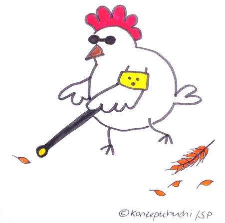 Auch ein blindes Kommunikations-Huhn findet mal ein Korn