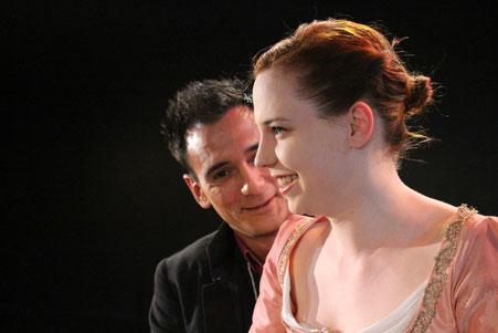 Foto Esteban Castro, mit Manuel Rivera