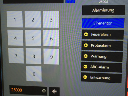 Analoge Alarmierung mit ZVEI 5-Tonfolgen direkt im LARDIS Desk