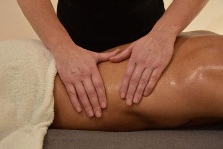 Au Nymphea massage suédois à l'huile végétale bio