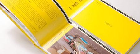 brochure met harde kaft