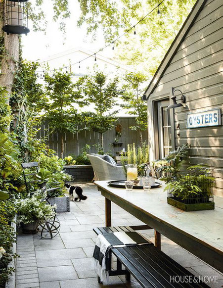 Ten outdoor living space ideas for Summer