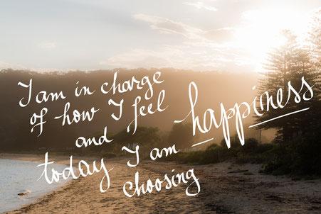 Ab heute entscheidest DU dich für das Glück