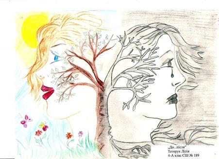 Diese Bild ist von einem Schüler gemalt worden