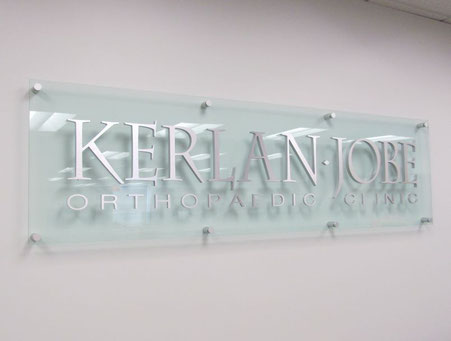 Kerlan Jobe Home Office Sign
