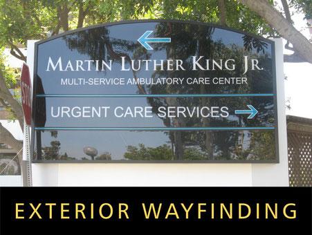 Exterior Wayfinding Signage
