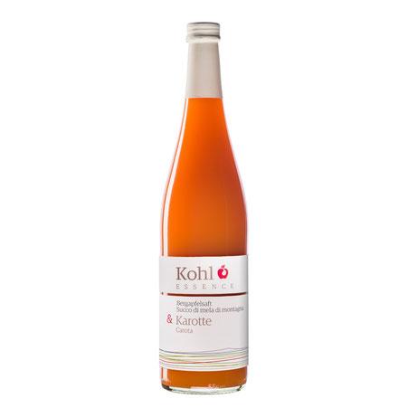 Kohl Bergapfelsaft Apfelsaft Karottensaft Cuvée Saftgourmet Gourmetsaft alkoholfreie Alternative