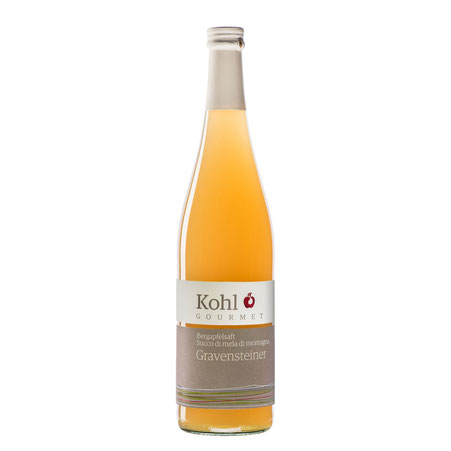 Kohl Bergapfelsaft sortenreiner Saft sortenreiner Apfelsaft Saft Saftgourmet Gourmetsaft alkoholfreie Alternative