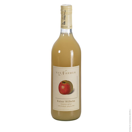 Van Nahmen Kaiser Wilhelm Apfelsaft sorteinreiner Apfelsaft Saft Gourmetsaft alkoholfreie Alternative