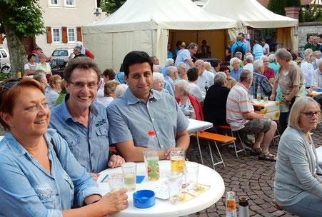 OpenAir-Fest des Gesangvereins Konkordia am 29.06.15