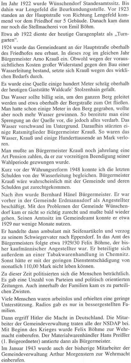 Bild: Teichler Wünschendorf Erzgebirge Wittig Kurt
