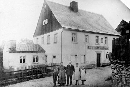 Bild: Wünschendorf Erzgebirge Bäcker Lößer