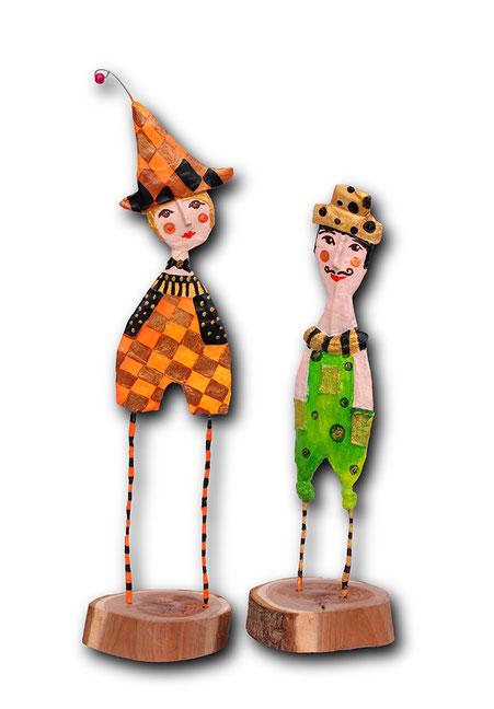 Hans und Franz ca 35 cm