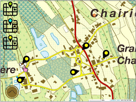 Carte interactive (2019)
