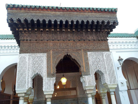 ~ Bild: Al Quarawine Moschee, Fès, Marokko ~