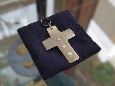 ジューンブライド 十字のネックレスチャーム 結婚式 アクセサリー 手づくり市