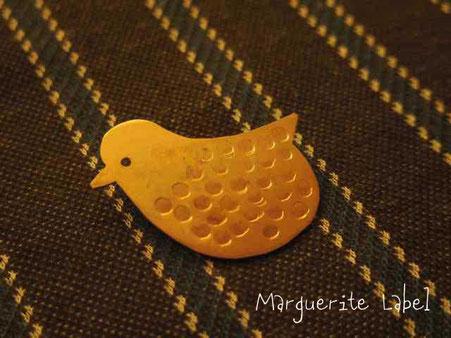 ことり真鍮ブローチ 京都、岐阜手作り市にて販売します。
