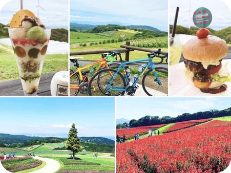 ロードバイクx淡路島グルメxヒルクライムを満喫しよう!!