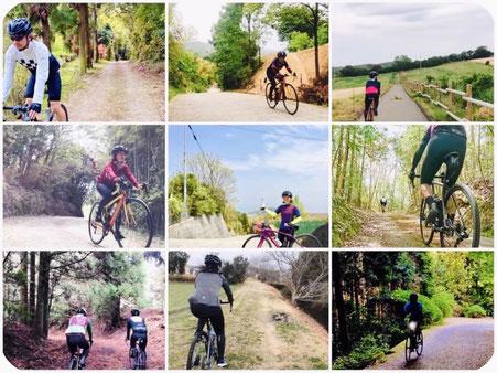 激坂x未舗装路など冒険サイクリングを楽しもう!!