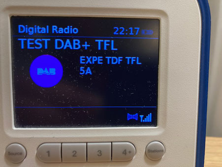 Radio du Salon de la Radio en DAB+