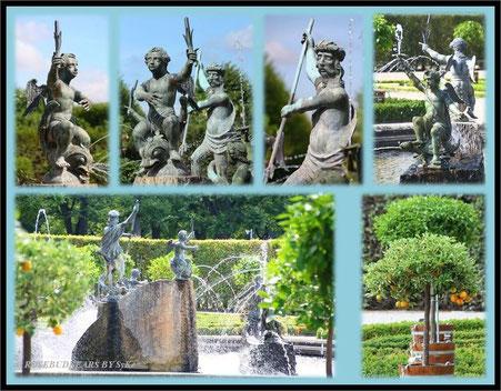 Hannover Herrenhausen Großer Garten Neptunbrunnen