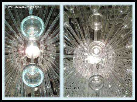 Ikeas Lichtobjekte als Lampen - wie die Schneekristalle, die heute vom Himmel fallen