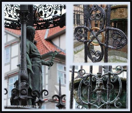 Hannover Altstadt Holzmarkt Brunnen