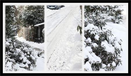 Schneeräumen in Hannover