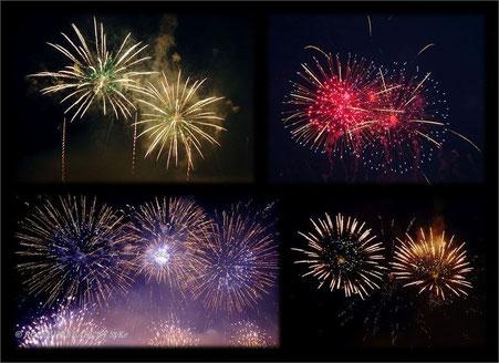 Intern. Feuerwerkswettbewerb Norwegen North Star Fireworks