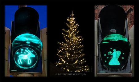 Hannover Ampeln Weihnachtsmarkt