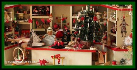 dort geht der Nikolaus einkaufen