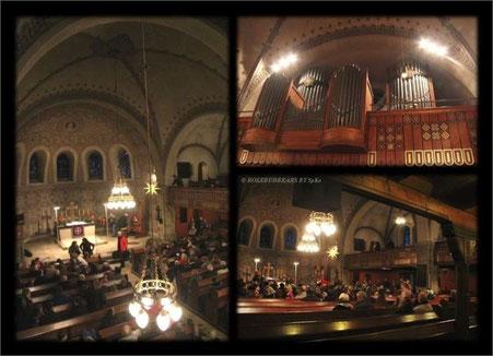 St.Nicolai - Kirchenschiff und Orgel