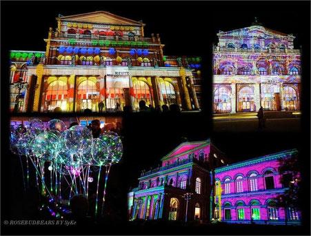 Hannover leuchtet Opernhaus