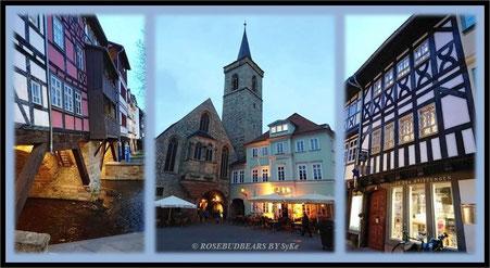 Abendspaziergang durch Erfurts Altstadt