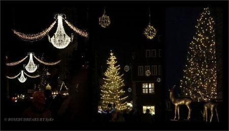 Licht in der Dunkelheit - Hannovers Altstadt im Dezember