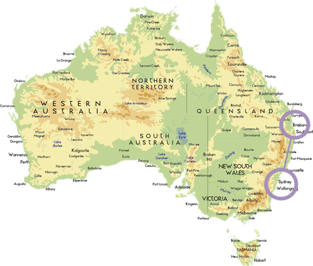 Australien, Australia, Reisebericht Australien, Reisebericht Queensland, Reisebericht Brisbane, Reisebericht New South Wales, Reisebericht Sydney, Brisbane, Sydney