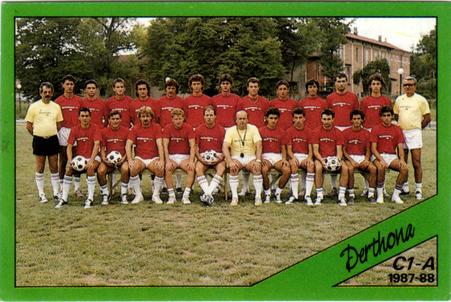 FIGURINA PANINI DERTHONA  1987-88