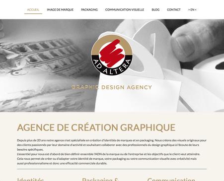 Le site d'Ad Altera en français (www.adaltera.be)